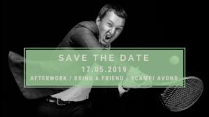 """""""Bring a friend"""" op 17 mei"""